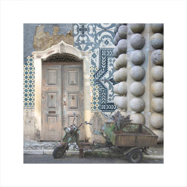 Claire Gill, Wallscape 2, Sintra, Portugal, Limited edition print, buy art