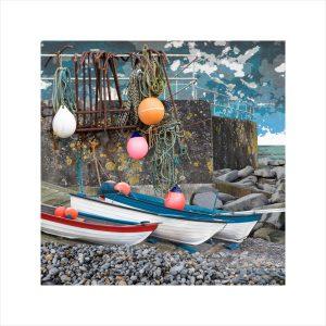 Claire Gill, Artist, Limited Edition prints, photomontage, digital art, seascapes, fine art prints, Sheringham, boats, Norfolk