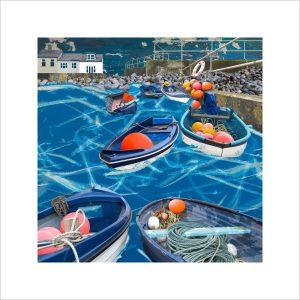 Claire Gill, Artist, Limited Edition prints, photomontage, digital art, seascapes, fine art prints, Sheringham, Norfolk, Boats