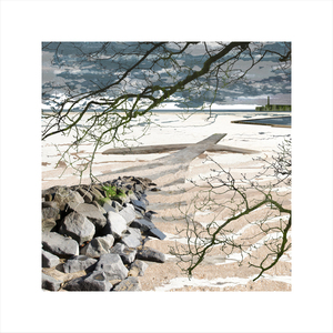 Claire Gill, Claire Gill Artist, Seascape, Limited edition print, Southwold, Digital Photomontage, Digital Art, Card, Buy Art, Collect Art, TS Eliot, The Wasteland, Journeys with the Wasteland, Lombard Street Gallery, On Margate Sands, The Burial of the Dead