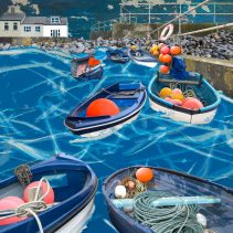 Claire Gill. fine art card, greeting card, seascapes, photomontage, coastal art, limited edition prints, seascape 56, Sheringham, North Norfolk