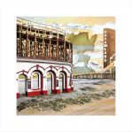 Claire Gill, Artist, seascapes, limited edition print, buy art, collect art, Margate, digital photomontage, seagull, Lombard street gallery, Dreamland