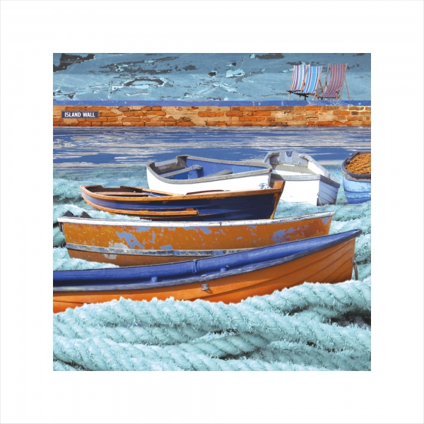 Claire Gill, Limited edition prints, digital photomontage, fine art prints, hahnemuhle, coastal art, Collect Art, seascape 12, Island Wall, Whitstable