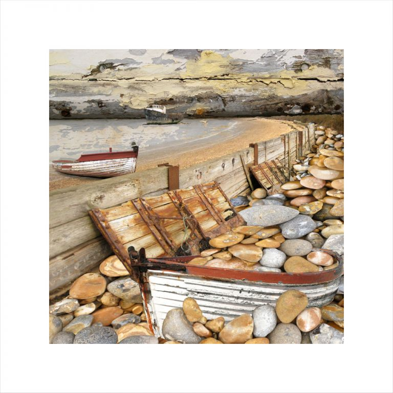 Claire Gill, Limited edition prints, digital photomontage, fine art prints, hahnemuhle, coastal art, Collect Art, seascape 15, West Mersea