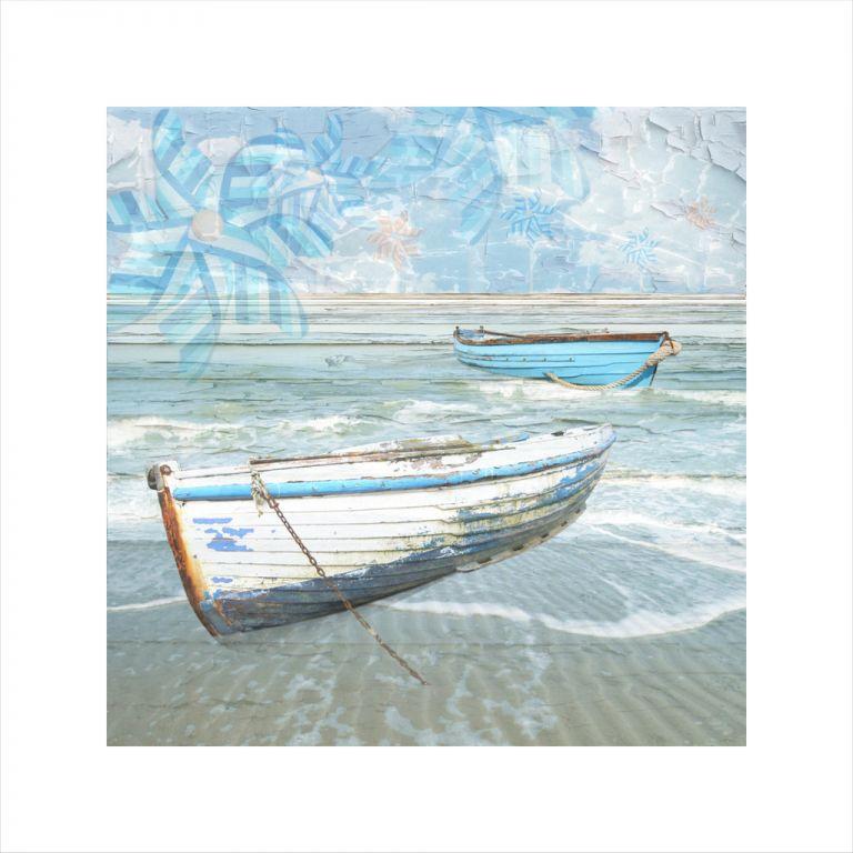 Claire Gill, digital photomontage, Limited edition print, Fine art print, collect art, seascape22, coastal art