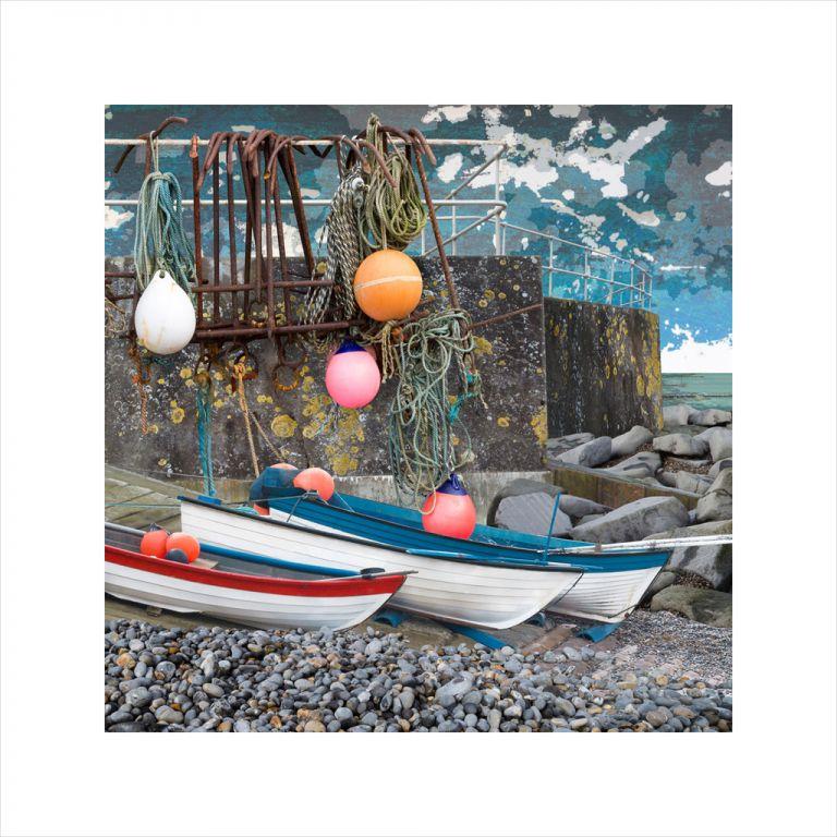 Affordable Art, Art for Sale, Art online, Art prints, Claire Gill, Limited edition prints, digital photomontage, fine art prints, hahnemuhle, coastal art, Collect Art, seascape 55, Sheringham, North Norfolk